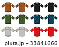 ホッケーシャツイラスト / カラーバリエーション 33841666