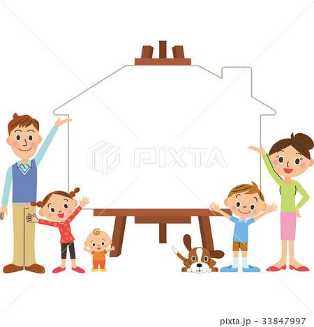 家族 キャンパス 家  33847997