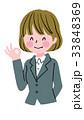 ベクター 女性 ビジネスウーマンのイラスト 33848369