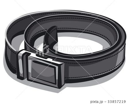 black leather belt 33857219