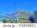 晴天下の羽田空港国際線ターミナル 33859651