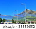 晴天下の羽田空港国際線ターミナル 33859652
