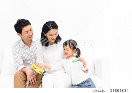 家族 団欒 白 33861354