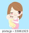 ベビー 赤ちゃん 赤ん坊のイラスト 33861923