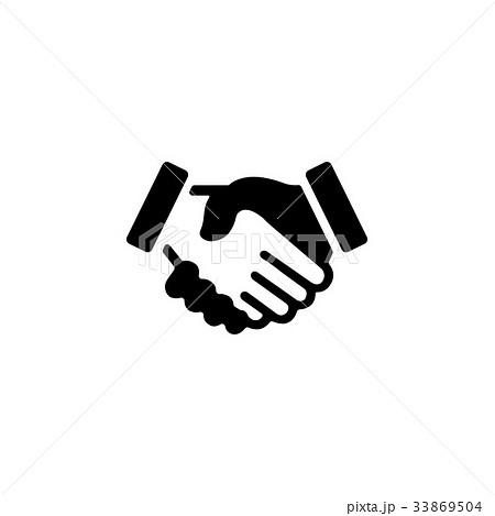 握手 手 アイコン 33869504