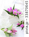 花 リンドウ 生け花の写真 33870645