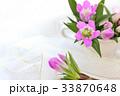 花 リンドウ 生け花の写真 33870648