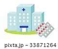 病院と薬 33871264