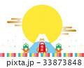 初売り 福袋 犬のイラスト 33873848