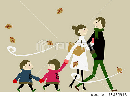 家族 冬のイメージ 33876918