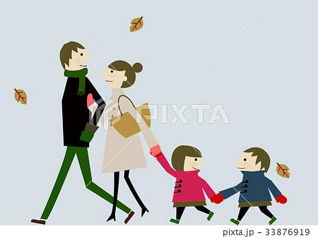 家族 冬のイメージ 33876919