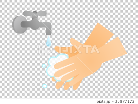 手洗いと蛇口 33877172