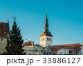 Tallinn, Estonia. Christmas Tree And Church Of St 33886127