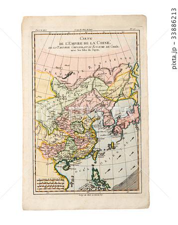 古地図 アジア 33886213