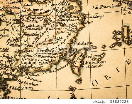 古地図 台湾 33886228