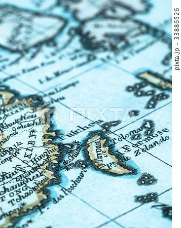 古地図 台湾 33886526