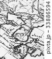 古地図 朝鮮半島 33886594