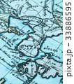 古地図 朝鮮半島 33886595