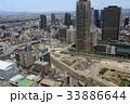 大阪 梅田 町並みの写真 33886644