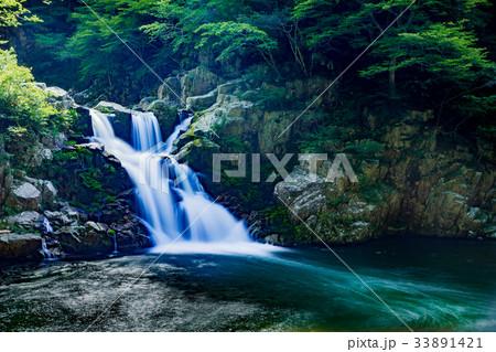 夏の三段峡(三段滝)(広島県安芸太田町) 33891421