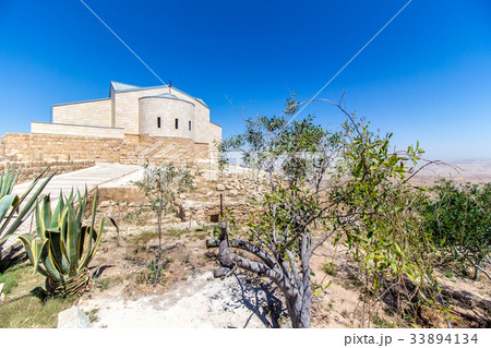 The Memorial of Moses at Mount Nebo, Jordan 33894134