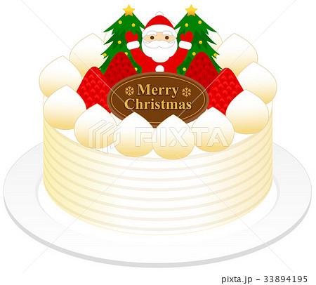クリスマスケーキ(苺) 33894195