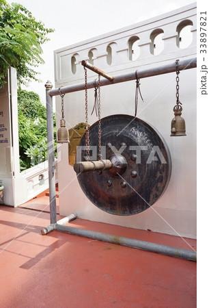 Bell in Wat Saket(ワット・サケットの鐘)の写真素材 [33897821] - PIXTA