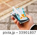 スマホ スマートフォン アプリケーションのイラスト 33901807