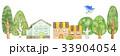 青い鳥と町並み 33904054