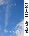 雲 青空 空の写真 33904064