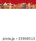 クリスマス ドイツの街並み 33908513