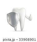 歯 ベクタ ベクターのイラスト 33908901