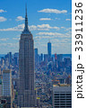 ロックフェラーセンター(トップ・オブ・ザ・ロック)から見えるマンハッタンの街並み2 33911236