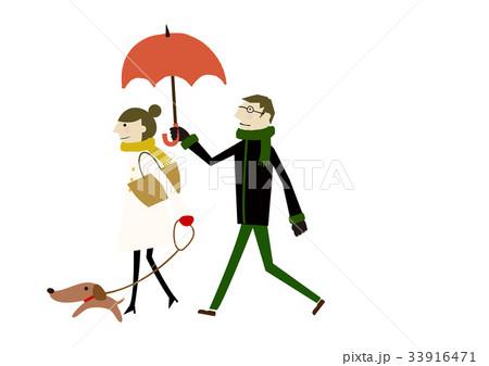 冬着のカップル 冬のイメージ 33916471