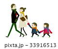 冬服の家族 冬のイメージ 33916513