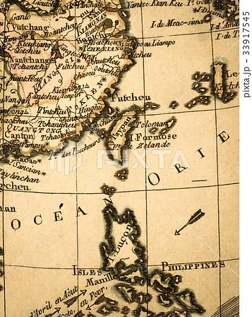 古地図 東アジア 33917545
