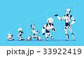 人工 未来的 集団のイラスト 33922419