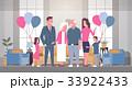 ファミリー 家庭 家族のイラスト 33922433