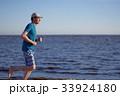 ジョギング 男 男の人の写真 33924180