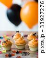 ハロウィン ハロウィーン カップケーキの写真 33927276