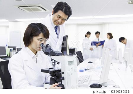 科学 研究 ビジネス サイエンス 実験 科学者 顕微鏡 33933531