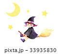 魔女 女の子 子供のイラスト 33935830