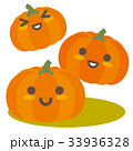 かぼちゃ 南瓜 野菜のイラスト 33936328