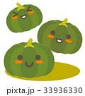 カボチャ 親子 キャラクターのイラスト 33936330