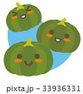 かぼちゃ 南瓜 野菜のイラスト 33936331