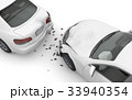 交通事故 自動車 衝突のイラスト 33940354
