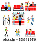 シネマ 映画 映画館のイラスト 33941959