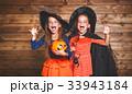 コスチューム ハロウィン 少女の写真 33943184