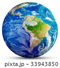 Planet Earth - South America 3d rendering 33943850