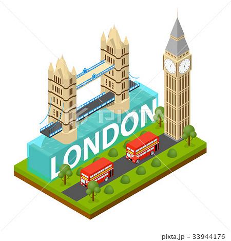 London City Famous Landmark of Capital England 33944176